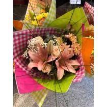 Camaieu fleuri