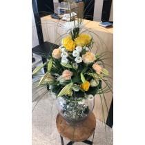 Bouquet Vase Couleur forte