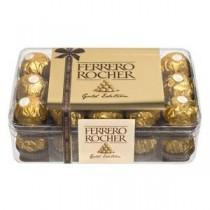 Box of 30 chocolates...
