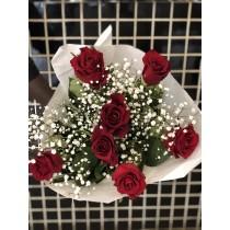 Bouquet de 9 roses
