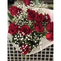 Bouquet de 11 roses
