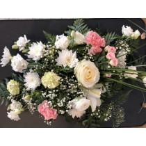 Grande présentation florale...